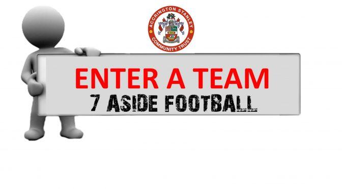 Enter A Team Accrington Stanley Community Trust
